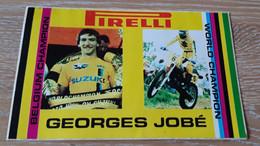 STICKER, AUTO-COLLANT MOTOCROSS GEORGES JOBE - Motorcycle Sport