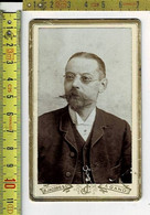 334 KL - VIEILLE PHOTO HOMME - OUDE FOTO  MAN - PHOTOGRAPHIE : B. JACOBS & CIE GAND - Old (before 1900)