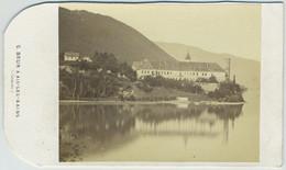 CDV 1860 -70 G. Brun à Aix-les-Bains. Lac Du Bourget. - Antiche (ante 1900)