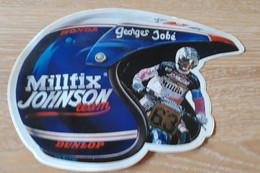 STICKER, AUTO-COLLANT MOTOCROSS MILLFIX JOHNSON, GEORGES JOBE - Motociclismo