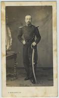 CDV Militaire 1860-70 G. Malardot à Metz. Chef De Musique Artilleur à Cheval. - Antiche (ante 1900)