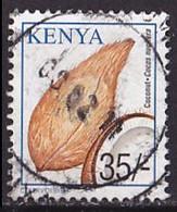 Timbre Oblitéré N° 737(Yvert) Kenya 2001 - Noix De Coco - Kenya (1963-...)