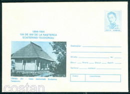 1994 Ecaterina Teodoroiu,girl Scout,nurse,WWI War Hero,Memorial House/Targu Jiu,Romania,cover/07 - Maximum Cards & Covers