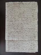 France - Important Manuscrit Ancien 1767 - Papier Timbre 2 Sols, Auch - à Déchiffrer - Manuscripts