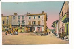 Carte De BOURG LASTIC  Avenue De La Gare - Autres Communes