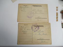 Camp Prisonnier Wurzburg Kriegsgefangenenlager  1914 - 1. Weltkrieg 1914-1918