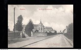 989-HANEFFE-eglise Et Presbytere - Donceel
