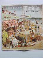 C4414/ Nordseebad Wittdün Auf Amrum  Heft 16 Seiten  1936 - Tourism Brochures