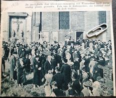 WAARSCHOOT..1936.. DE JAARLIJKSCHE SINT-GHISLENUS OMMEGANG - Non Classés
