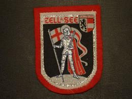 Blason écusson Tissu Feutrine Zell Am See Autriche Austria  Wappen  Coat Arms   Stemma  Escudo - Scudetti In Tela
