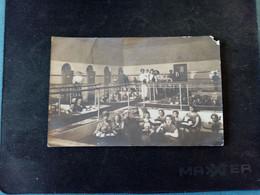 H2:LEUKERBAD-LOECHE-LES-BAINS-RARE CARTE PHOTO DES PERSONNES DANS LES BAINS (belle Animation) - VS Valais