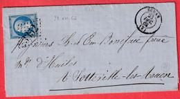 N°22  GC 3352 SEDAN ARDENNES DU 23 DECEMBRE 1862 BONNE DATE - 1849-1876: Periodo Classico