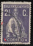 PORTUGAL  Ceres 2 1/2C 1912 - N/C Cliche  - VFU No Faults - Unclassified