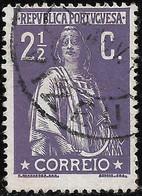 PORTUGAL  Ceres 2 1/2C 1912 -MARCOFILIA VIZEU- R:1 - VFU No Faults - Unclassified