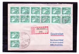 DDR, 1984, Brief (echt Gelaufen - Einschreiben), Michel 2483, Sonderstempel, Alfred Brehm - Cartas