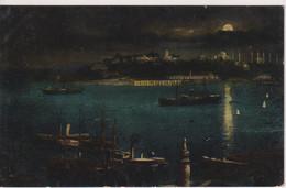 TURKEY - Constantinople - Ponte Du Serail - Moonlight View Etc - Turchia