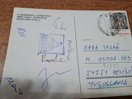 Postcard - Nepal, II Alpinistička Himalaya Expedition Dhaulagiri, Zagreb-Croatia     (V 35633) - Nepal