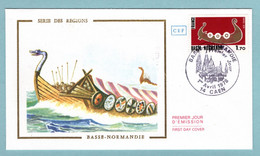 FDC France 1978 - Basse Normandie - YT 1993 - 14 Caen - 1970-1979