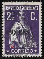 PORTUGAL  Ceres 2 1/2C 1912 -N/C Cliche - VFU No Faults - Unclassified