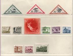 Ungarn 1952 Siehe Bild/Beschreibung 12 Marken Gestempelt  Hungary Used - Gebraucht