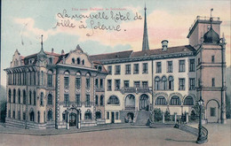 Solothurn, Das Neue Rathaus, Litho (2163) - SO Soleure