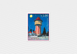 2021 Latvia Lettland Lettonie  Water Tower - Riga Latvian  Architecture MNH - Autres