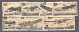 Ru0  -  Russie  -  Avion  :  Yv  60-66  (o) - Used Stamps