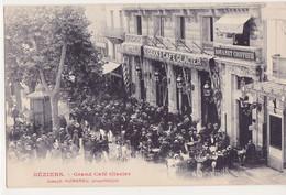 BEZIERS Grand Café Glacier Joseph HUMARAU Propriétare - Beziers