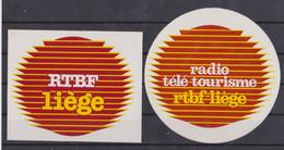 Autocollant, Radio Télé Liège.. - Autocollants