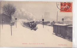 BEZIERS Train Bloqué Par Les Neiges - Beziers