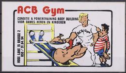 Autocollant, ACB Gym, Body Builders. - Autocollants