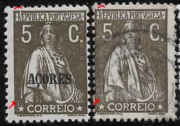 PORTUGAL  Ceres 5C Same BIG N/C Cliche- MH/VFU Both No Faults - Unclassified