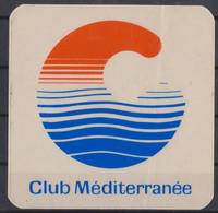 Autocollant, Club Méditerranée. - Autocollants