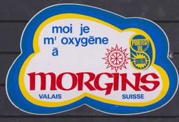Autocollant, Morgins, Valais Suisse. - Autocollants