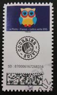 FRANCIA 2020 - Autoadesivo 1921 Timbro Tondo - Used Stamps