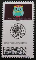 FRANCIA 2020 - Autoadesivo 1929 Timbro Tondo - Used Stamps