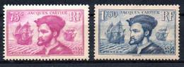 France Frankreich Y&T 296**, 297** - Nuevos