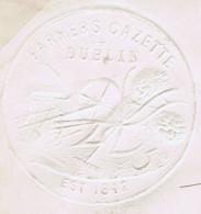 Ireland Agriculture Farming Dublin 1881 Embossed FARMER'S GAZETTE DUBLIN Envelope To Killucan 1d Venetian Red - Ohne Zuordnung