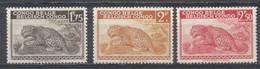Congo Belga, 1942, Leopardo, Nuevos - 1923-44: Ungebraucht