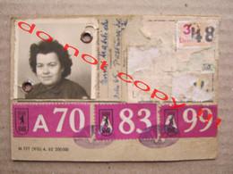 BVG Berlin / 7 - TAGE - WOCHENKARTE ( Woman Photo ) - Europe