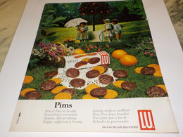 ANCIENNE  PUBLICITE GOURMANDISE PIMS LU 1983 - Posters