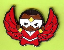 Pin's BD Disney Marvel Kawaii Art Collection Faucon (Falcon) - 9X05 - Disney