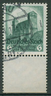 Deutsches Reich 1934 Reichsparteitag Nürnberg Unterrand 546 Gestempelt - Gebruikt