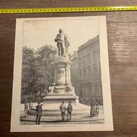 1886 IE Statue De Jordaens à Anvers De Jules Pécher - Non Classés