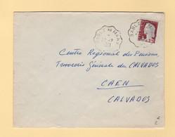 Convoyeur - Sable Au Mans -1961 - Marianne De Decaris - Railway Post