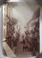 UNE RUE LE PONT ARCHE ? PHOTO SEPIA DE RUE A IDENTIFIER VOIR DEUXIEME PHOTO - Unclassified