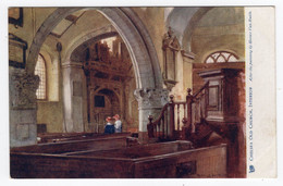 CHELSEA OLD CHURCH -  Interior- Tuck Oilette  2648 - Horace Van Ruith - Other