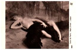 Tableau 731Tadé Styka, Léda (femme Nue - Paintings