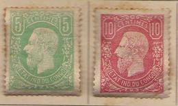 Congo Belge (1886) - 5. C 10 C.  Leopold II  -    Neufs* - MH - 1894-1923 Mols: Ungebraucht