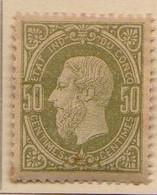 Congo Belge (1886) - 50   C.  Leopold II  -    Neufs* - MH - 1894-1923 Mols: Ungebraucht